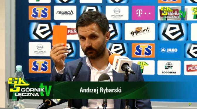 [VIDEO] A.Rybarski: Niemam zastrzeżeń doswoich zawodników