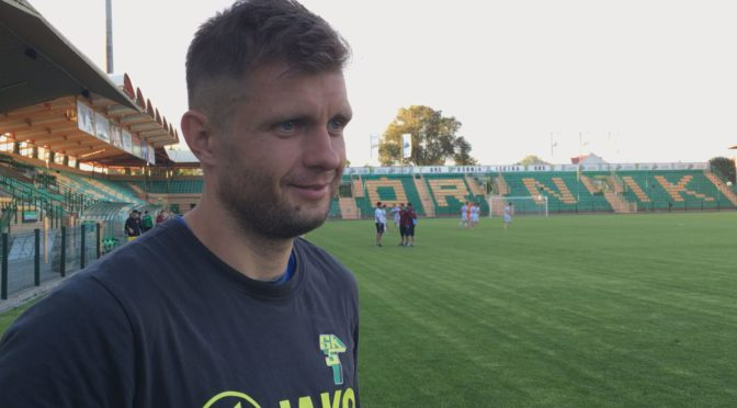 [VIDEO] M. Szmatiuk: Chcemy wygrać zLechią