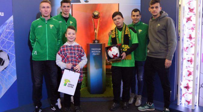 [FOTO] Ekstraklasa Trophy Tour zGórnikiem Łęczna
