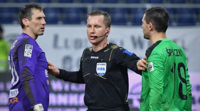 Bartosz Frankowski poprowadzi mecz zWisłą Płock